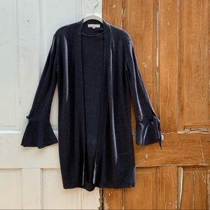 Loft gray cardigan Size XS